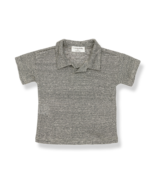 1 + in the family Andreau polo Anthracite