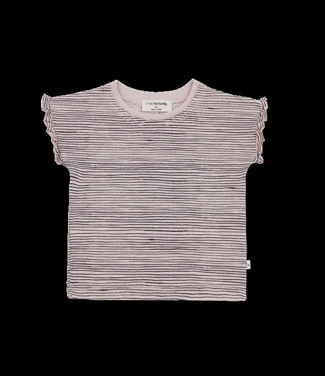 1 + in the family Isona girly shirt Rose