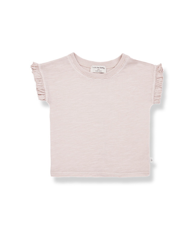 1 + in the family Mireia tshirt Rose