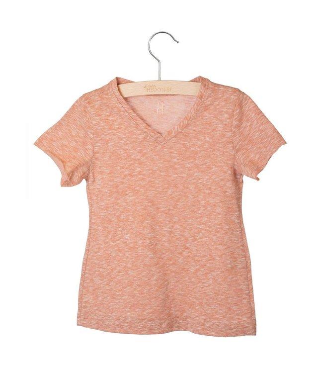Little Hedonist Nik shirt Auburn Melee