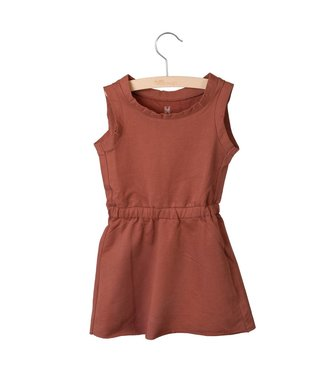 Little Hedonist Judy sleeveless dress Auburn