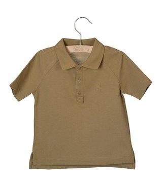 Little Hedonist Max Short sleeve polo Antique Bronze