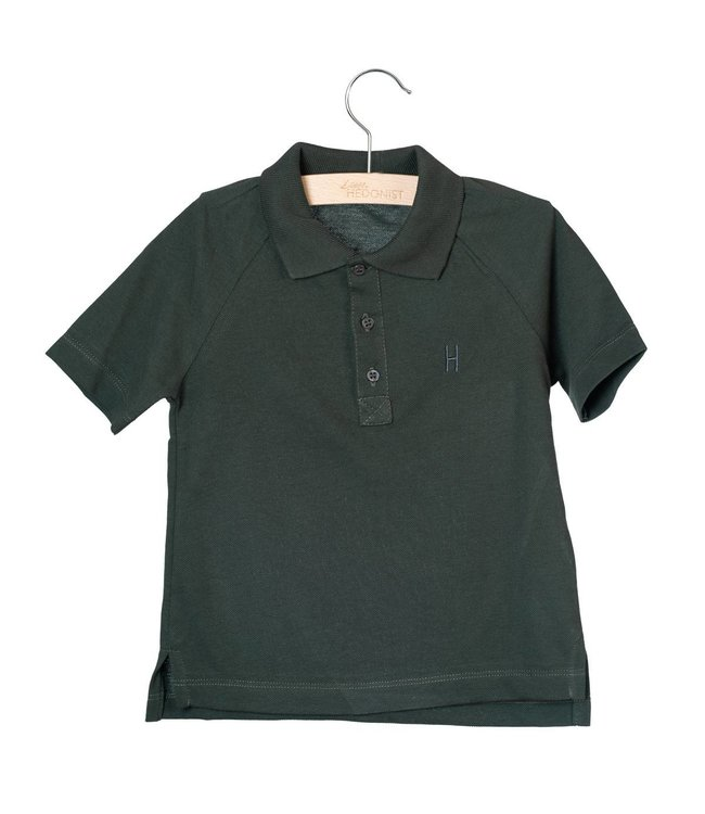Little Hedonist Max Short sleeve polo Pirate Black