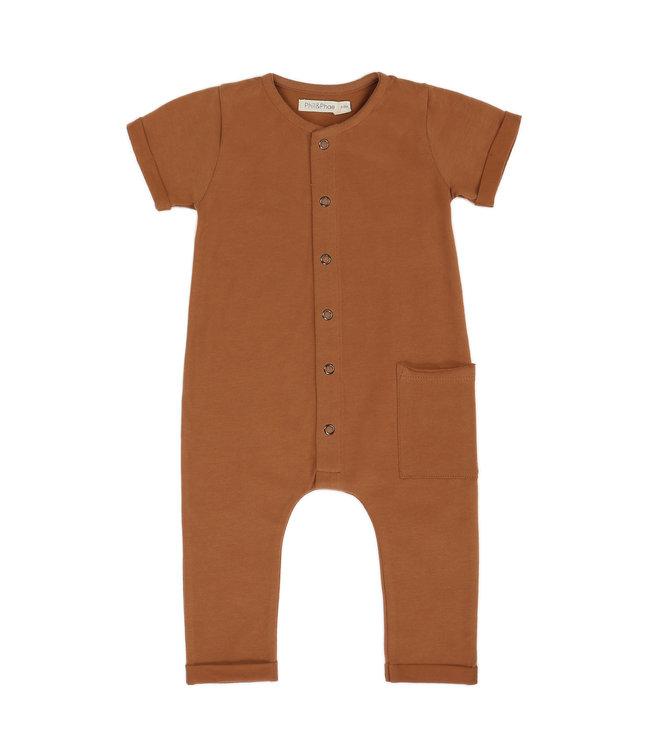 Phil&Phae Pocket jumpsuit s/s Hazel