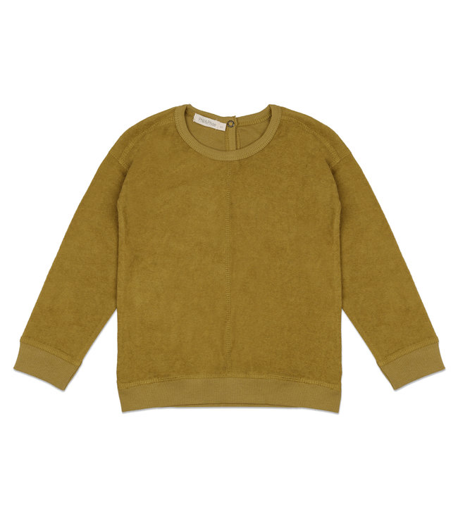 Phil&Phae Frotté sweater Pear