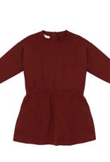 Phil&Phae Oversized dress summer sweat Deepest Brick