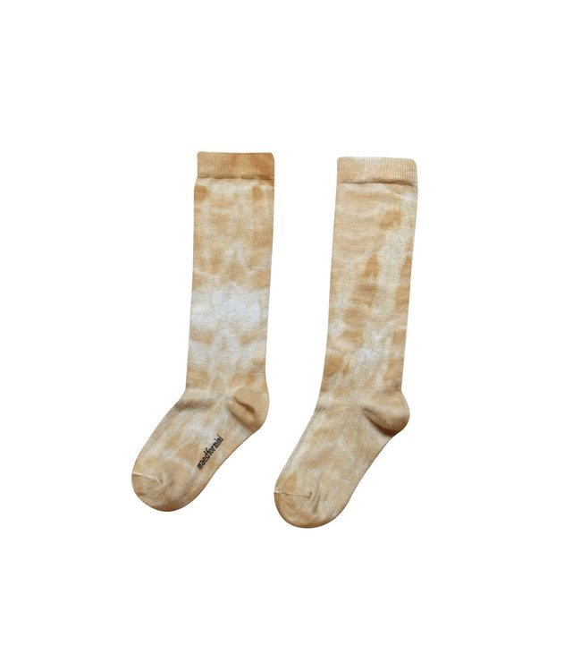 Maed for mini Splotchy shrew socks