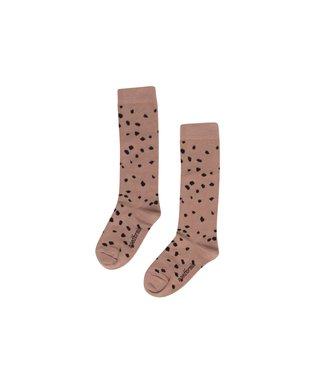 Maed for mini Sahara Leopard socks