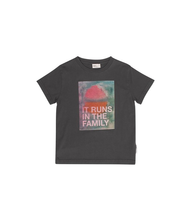 Maed for mini it runs in the family t-shirt