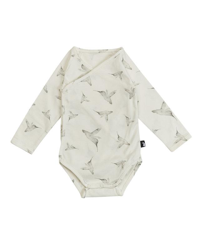 Mies & CO Wrap bodysuit l/s Little dreams