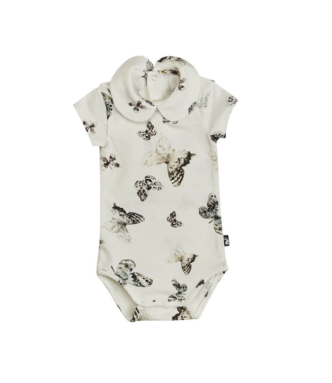 Mies & CO Collar bodysuit s/s Fika Butterfly