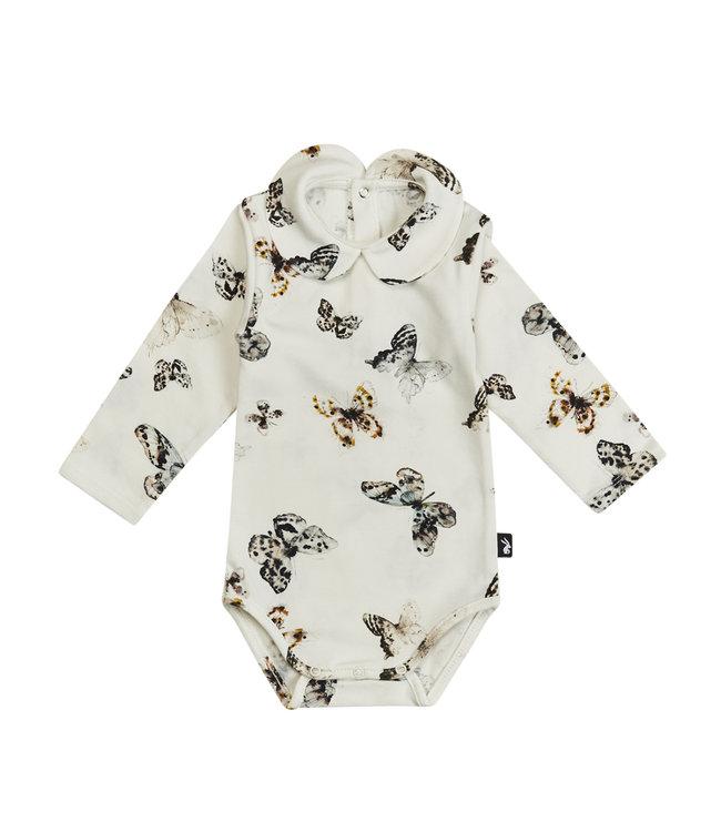 Mies & CO Collar bodysuit l/s Fika Butterfly