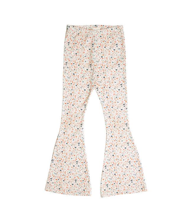 Petit Blush Bowie Flared pants Floral
