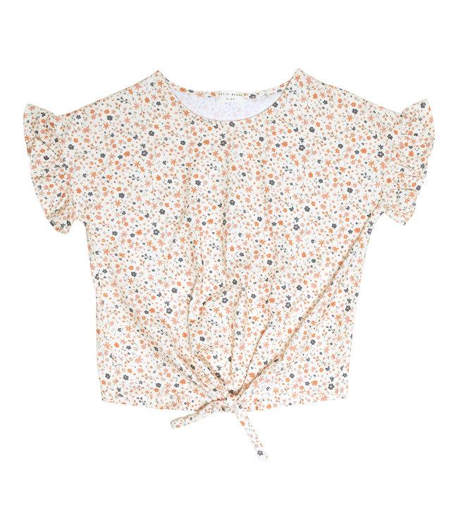Petit Blush Knot t-shirt Floral