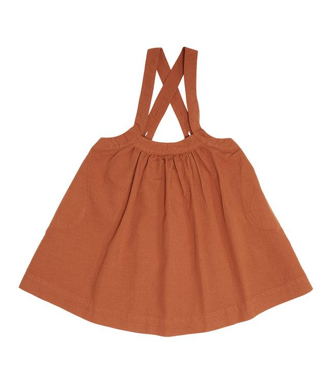 Petit Blush Oversized pinafore dress Sierra