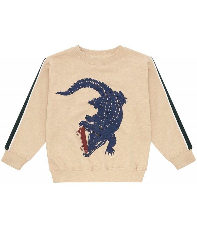 Soft Gallery Baptiste Sweatshirt Crocoskate