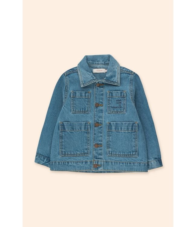Tiny Cottons Denim jacket wishing table