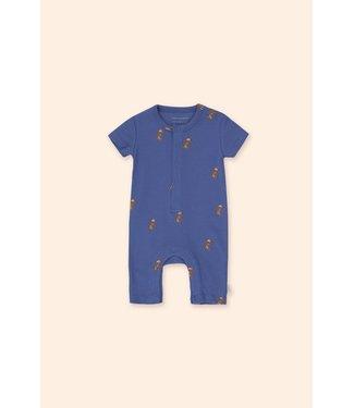 Tiny Cottons Jogging one-piece iris blue/cinnamon