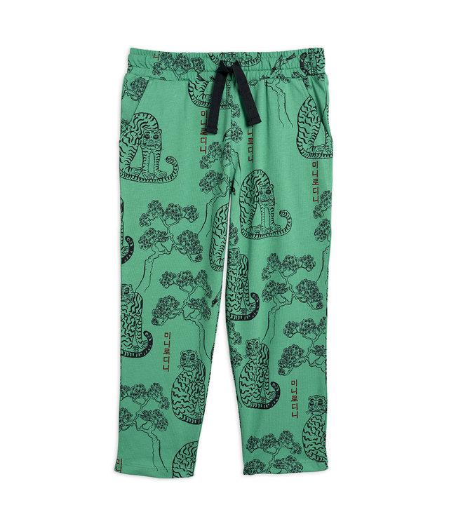 Mini Rodini Tiger trousers green