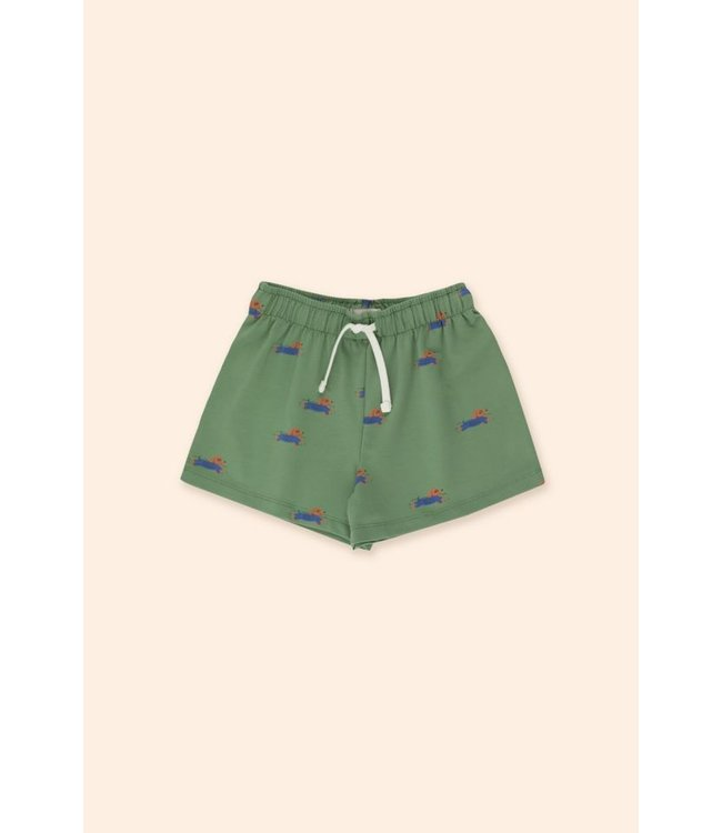 Tiny Cottons Doggy paddle short green/blue