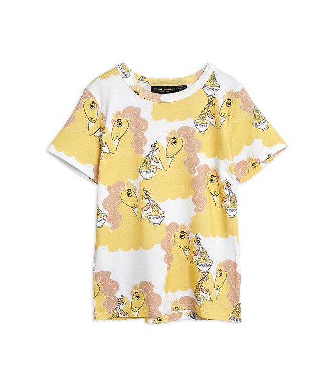 Mini Rodini Unicorn noodlesss tee Yellow