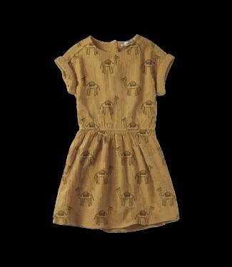 Sproet & Sprout Dress Camel print Desert