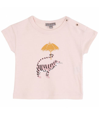 Emile et Ida T-shirt S010 Rose Tigre