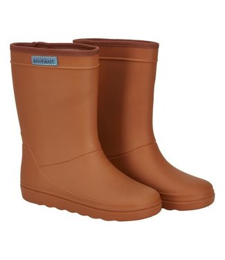 EN FANT Rubber Rainboot Leather Brown