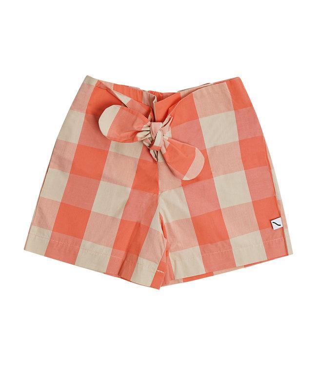 CarlijnQ Checkers paperbag short