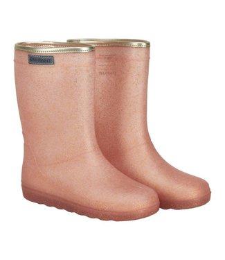 EN FANT Rubber Rainboot Cameo Rose Glitter