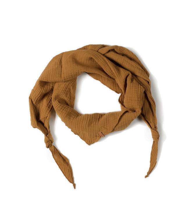 NixNut Triangle scarf Caramel