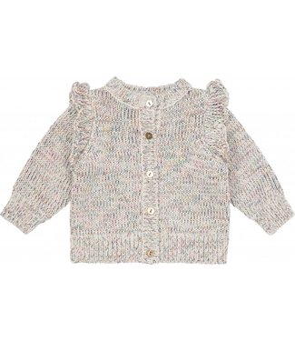Soft Gallery Henna Cardigan Knit Mix