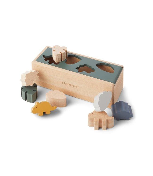 Liewood Midas puzzle box Dino