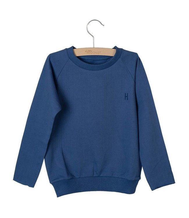 Little Hedonist Caecilia sweater Coastal Fjord