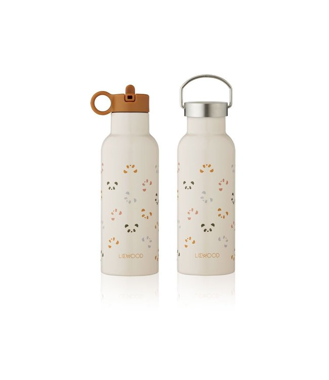 Liewood Neo water bottle Panda sandy mix