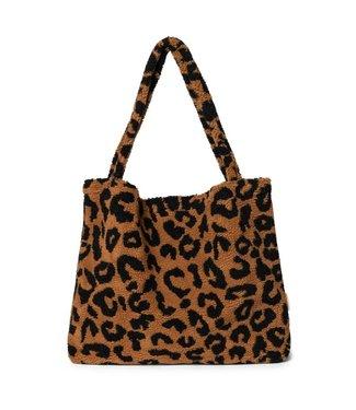Studio Noos Mom-bag Teddy leopard brown