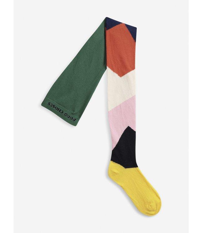 Bobo Choses Multi color block tights