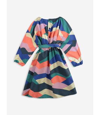 Bobo Choses Multi color block dress