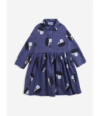 Bobo Choses Doggie all over Woven button dress