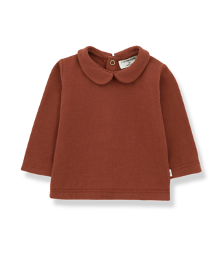1 + in the family Angelica blouse Brick