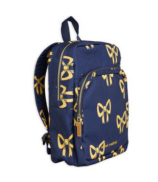 Mini Rodini Bow backpack Navy