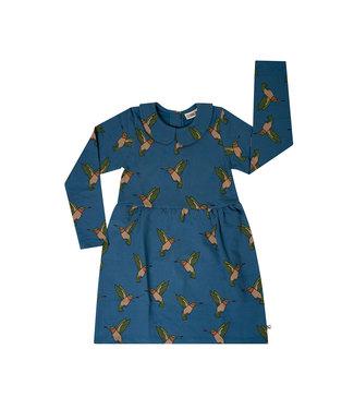 CarlijnQ Hummingbird collar dress