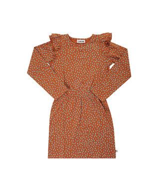 CarlijnQ Mountain air Sparkles ruffled dress