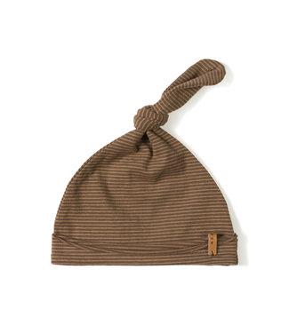 NixNut Newbie hat Stripe toffee