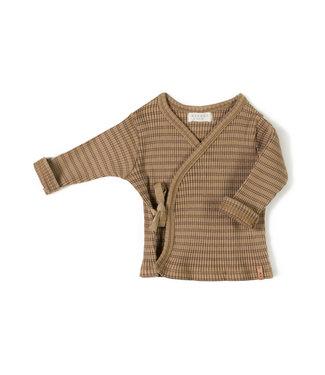 NixNut Rib vest Choco Stripe