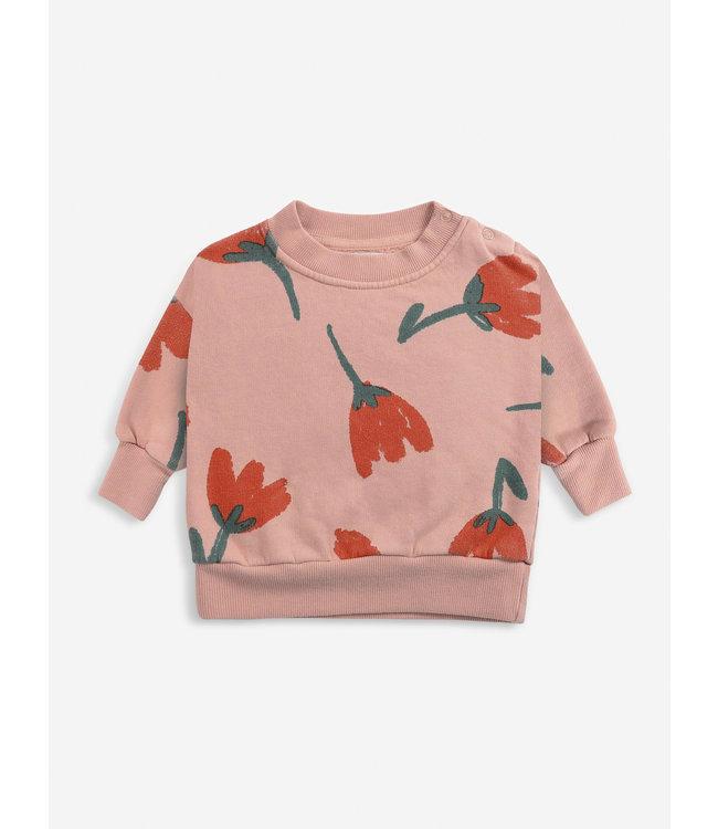 Bobo Choses Big flower all over sweatshirt