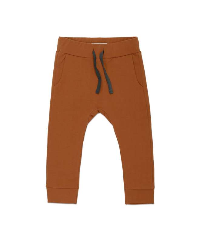 Phil&Phae Drop-crotch sweat pants Gingerbread