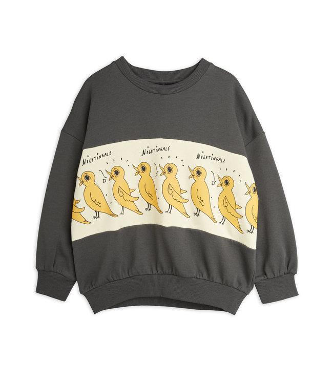 Mini Rodini Nightingale sweatshirt Black