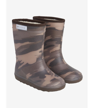 EN FANT Thermo boots Dark Olive print