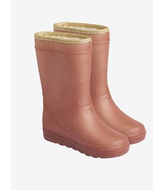 EN FANT Thermo boots Metallic Rose glitter
